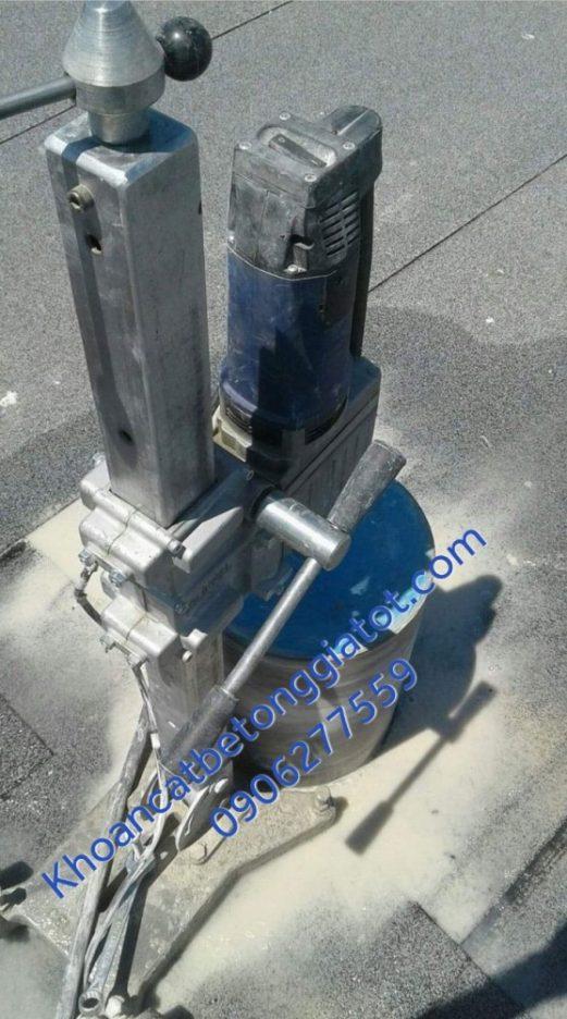 khoan rút lõi bê tông quận 1 giá rẻ 0906277559