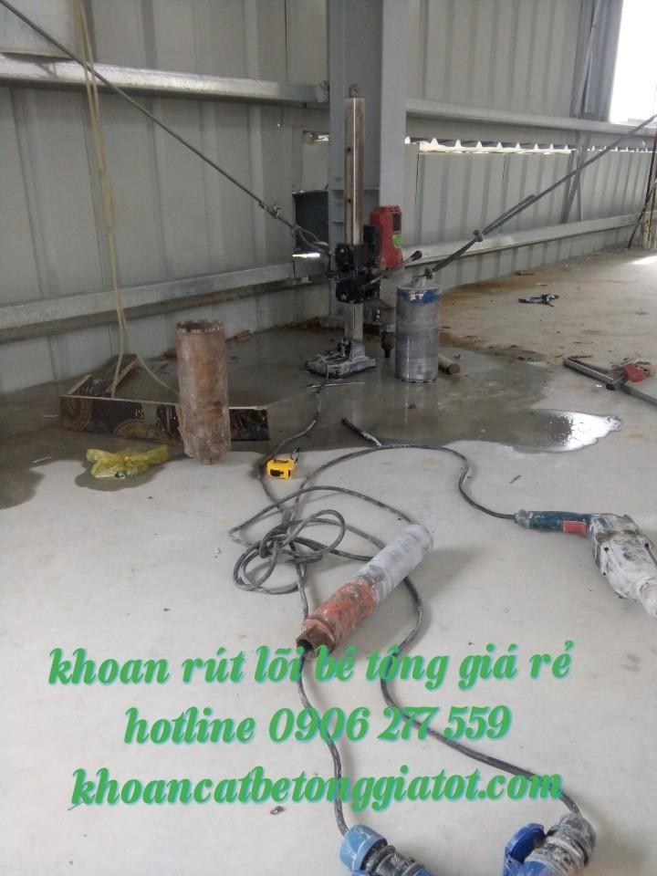 khoan rút lõi bê tông tại quận 2 chất lượng 0906277559