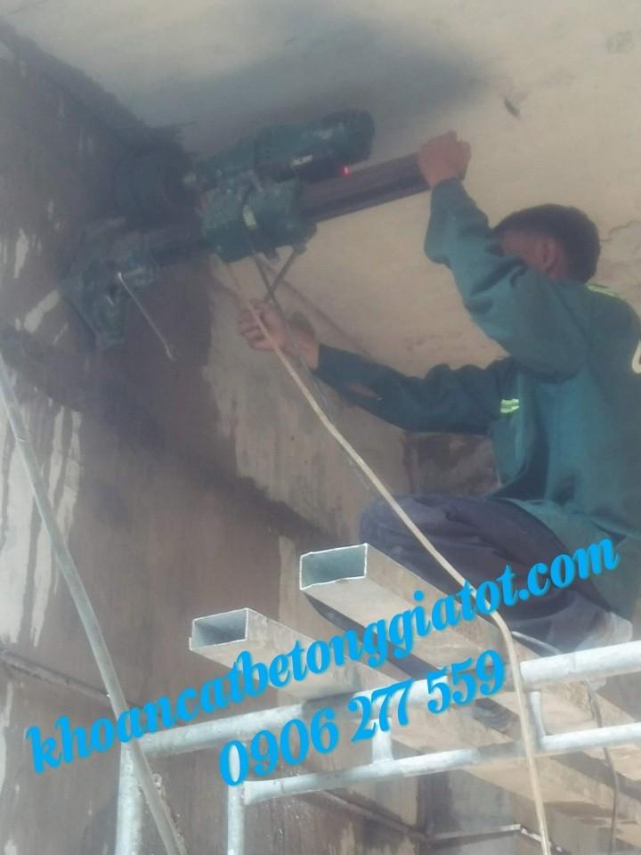 khoan cắt đục bê tông chuyên nghiệp giá rẻ 0906277559