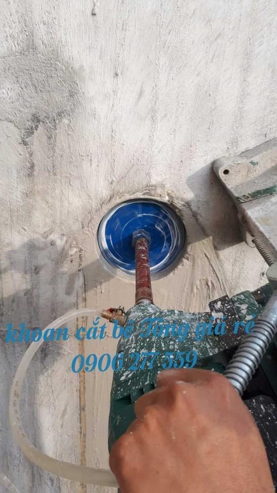 khoan rút lõi sàn tường bê tông quận bình thạnh 0906277559