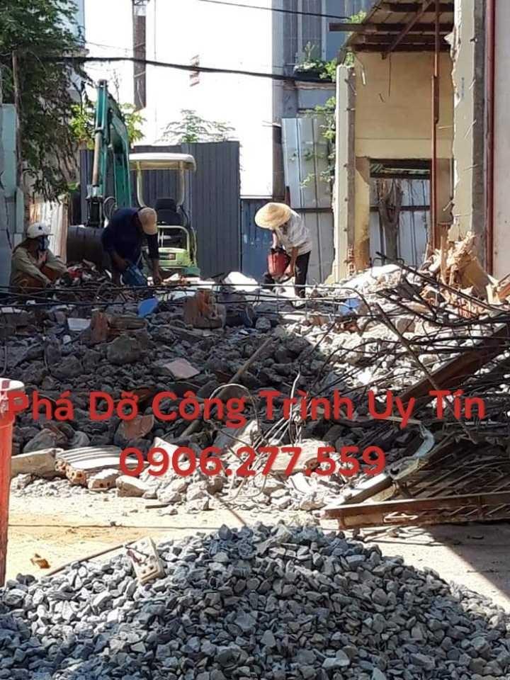 phá dỡ công trình tphcm uy tín giá rẻ 0906 277 559