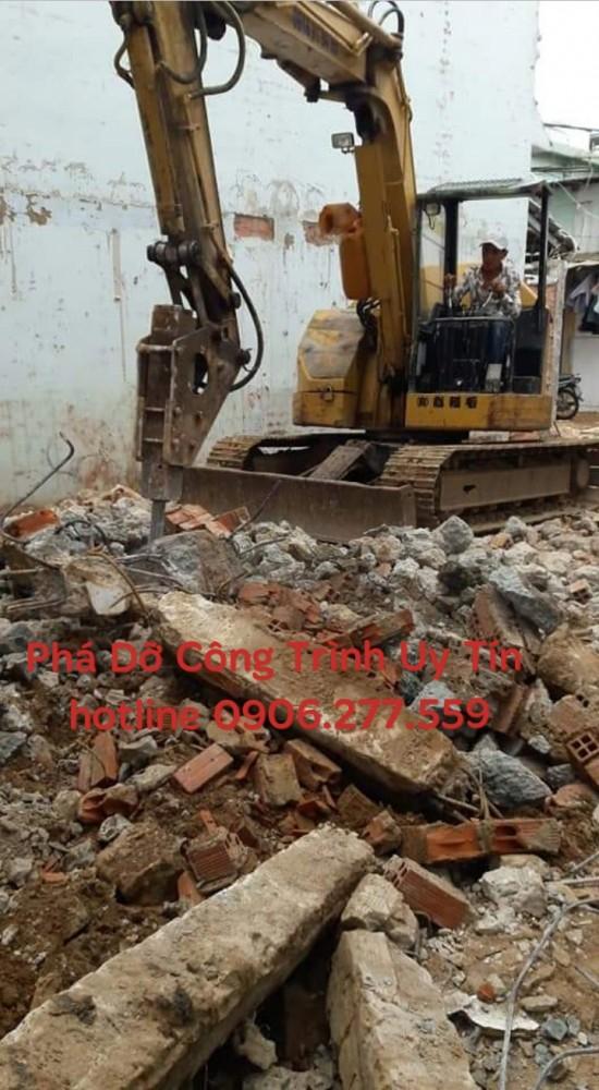 đập phá tháo dỡ nhà công trình quận bình thạnh 0906277559