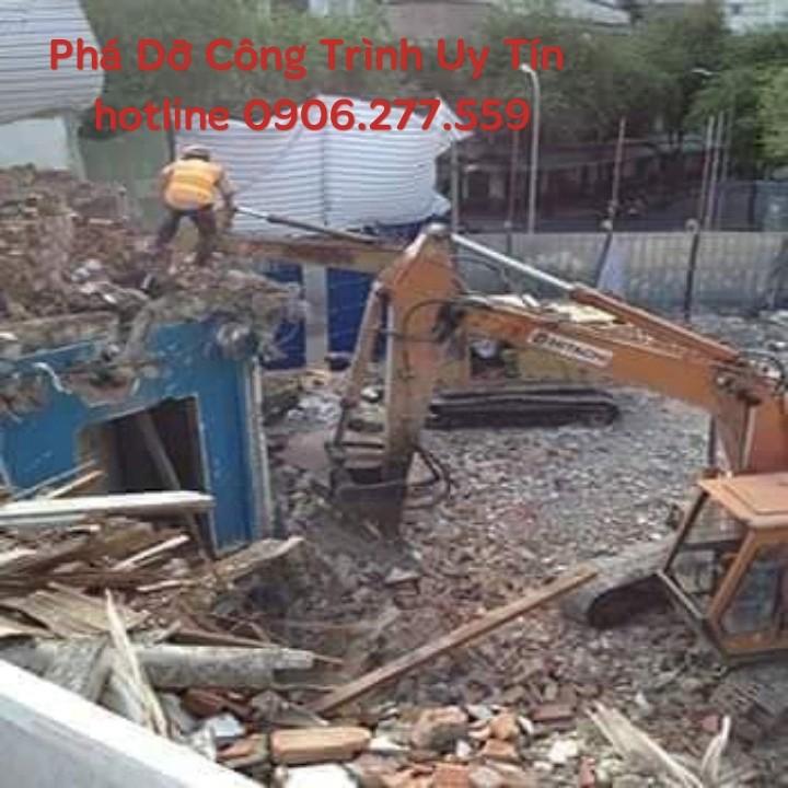 đập phá tháo dỡ công trình uy tín tại tphcm 0906 277 559