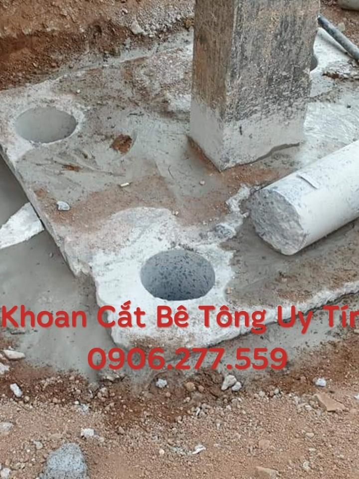 Khoan Rút Lõi Bê Tông Tp Biên Hòa Gọi Ngay 0906 277 559