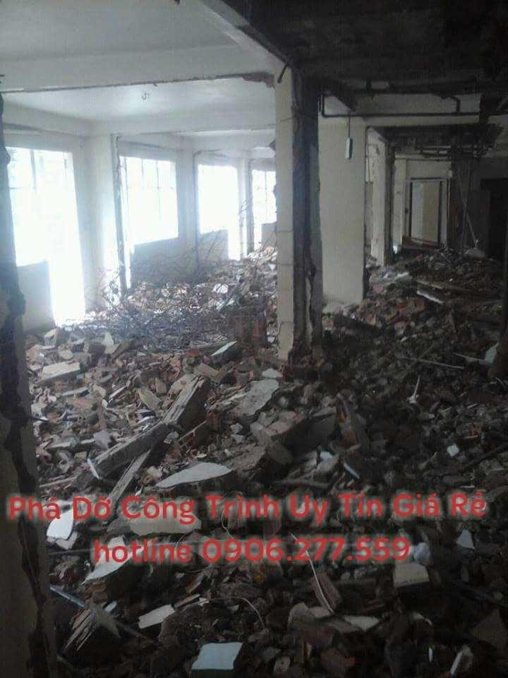 Đập phá tháo dỡ nhà tại bình dương giá rẻ 0906277559