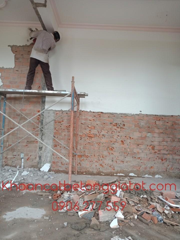 đục gạch nền bóc gạch men tường tại bình dương 0906277559