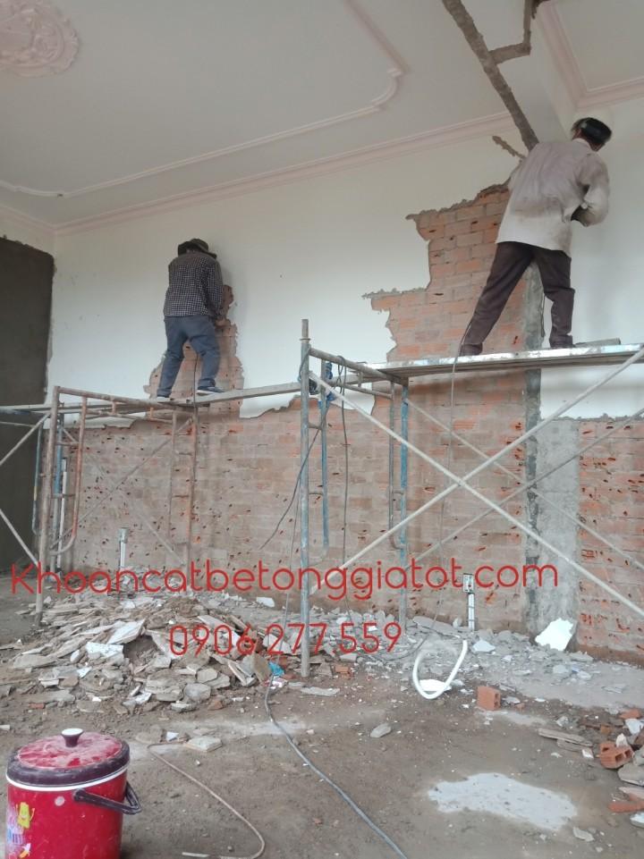 đục gạch nền bóc gạch tường tại bình dương giá rẻ 0906277559