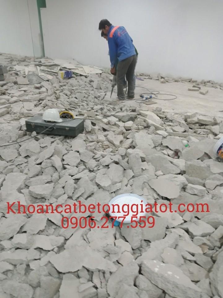 bóc đục lột nền gạch men tại bình dương giá rẻ 0906277559
